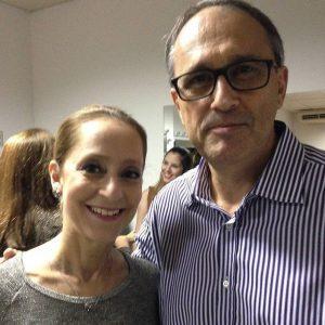 Palestra feita no Ballace - Concurso Nacional de Dança com o tema Gestão em Tempos de Crise-aqui ao lado da etrena Ana Botafogo