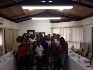 Programa de Capacitação da Petrobras para postos de combustíveis, realizado em Porto Seguro BA