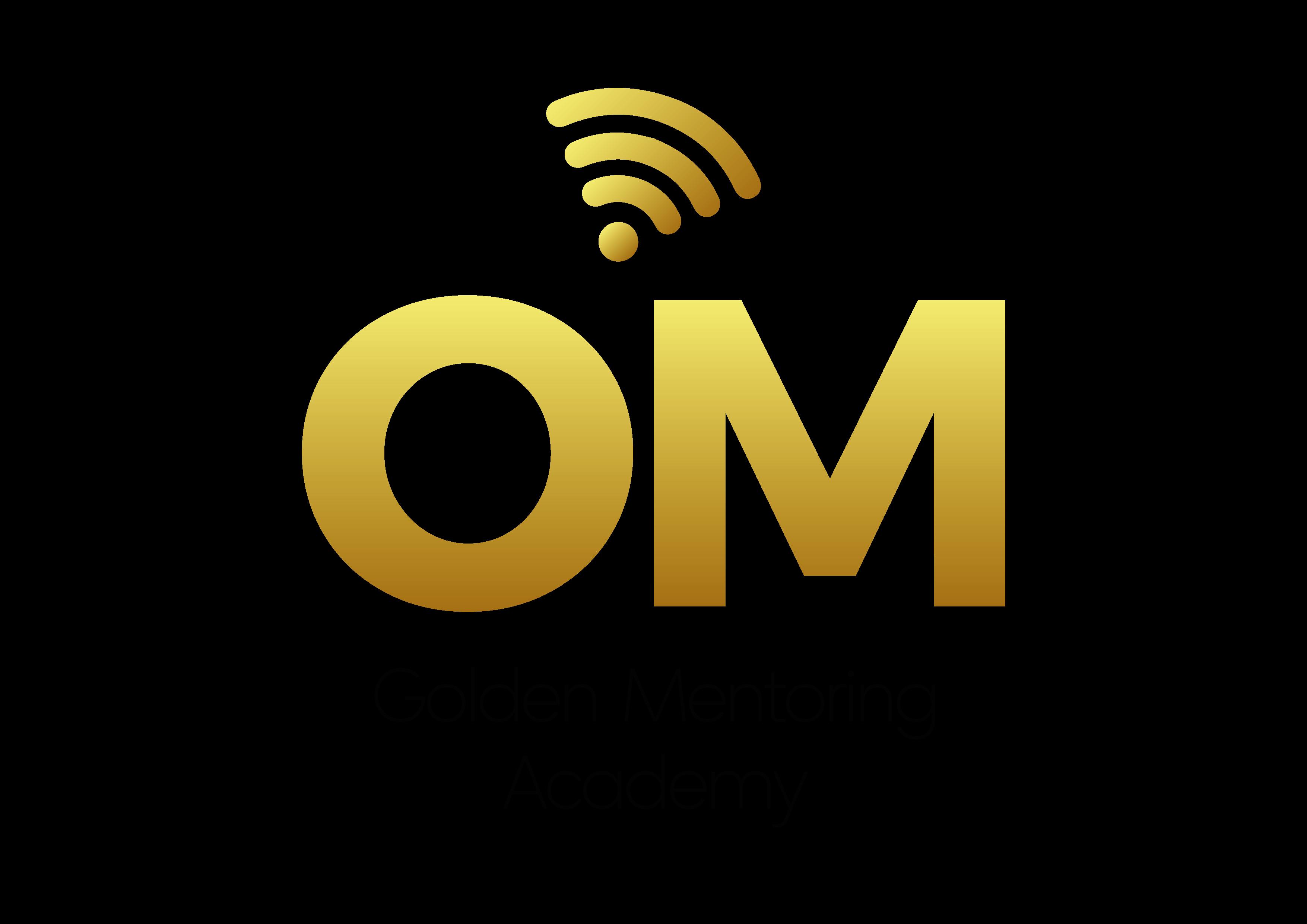 Logotipo – OM Golden Mentoring Academy – APROVADA-05